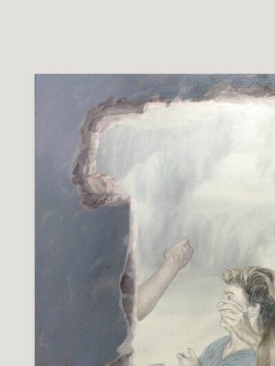 18 kwietnia 2015 r., olej na płótnie, 120x100cm, 2015 ra