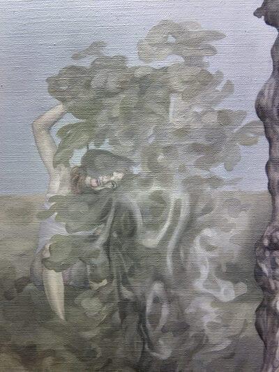 23 września 2015 r., olej na płótnie, 120 x 100 cm, 2015 r. – fragment 1