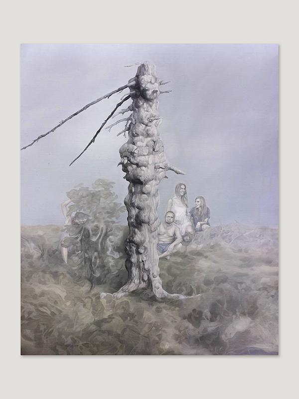 23 września 2015 r., olej na płótnie, 120 x 100 cm, 2015 r.