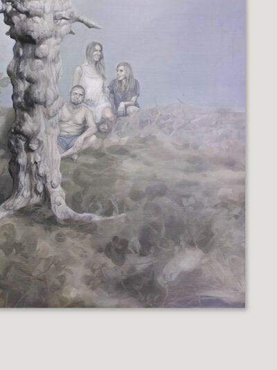 23 września 2015 r., olej na płótnie, 120 x 100 cm, 2015 rb
