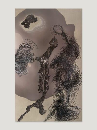 29 października 2017 r., olej na płótnie, 160 x 100 cm, 2018