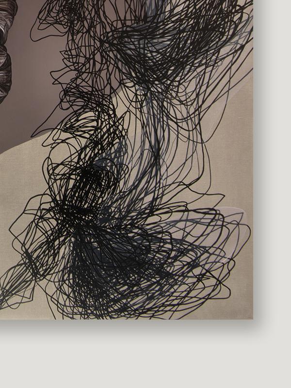 29 października 2017 r., olej na płótnie, 160 x 100 cm, 2018c