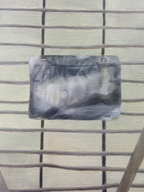 30 grudnia 2014 r., olej na płótnie, 100 x 120 cm, 2015 r. – fragment 2