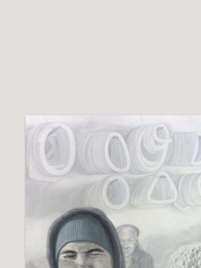 31 grudnia 2014 r., olej na płótnie, 100 x 120 2015a