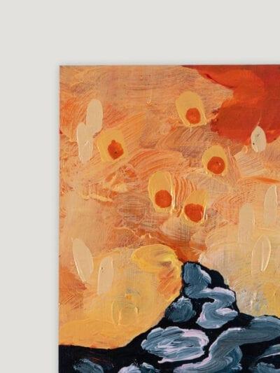 Johanna Alanko_Abstract plant series IV_akryl_papier_35x48_1