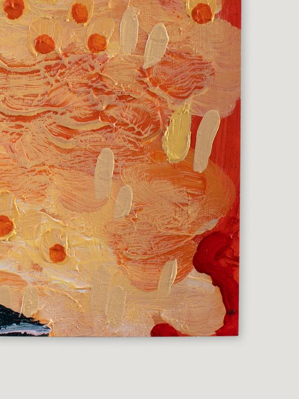 Johanna Alanko_Abstract plant series IV_akryl_papier_35x48_2