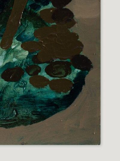 Johanna Alanko_Abstract plant series I_akryl_papier_35x48_2