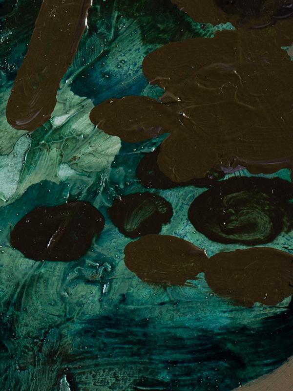 Johanna Alanko_Abstract plant series I_akryl_papier_35x48_3