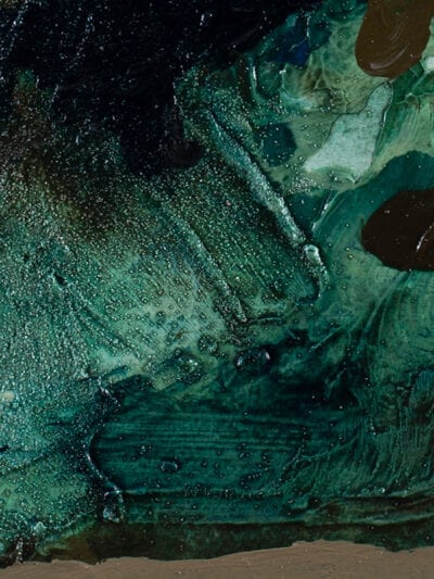 Johanna Alanko_Abstract plant series I_akryl_papier_35x48_4