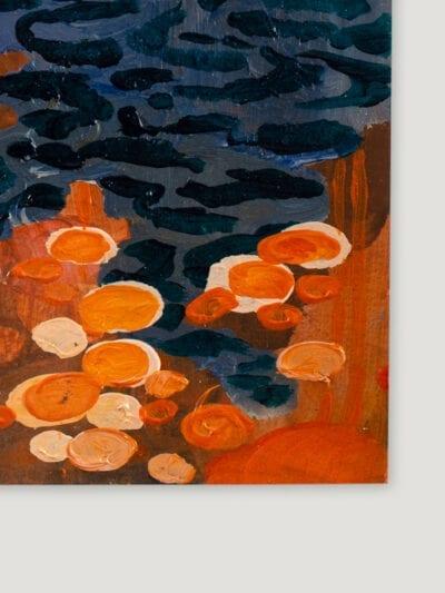 Johanna Alanko_Abstract plant series V_akryl_papier_35x48_2